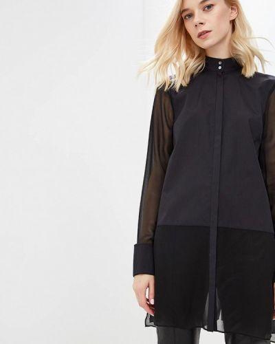 Черная туника туника-блуза Karl Lagerfeld