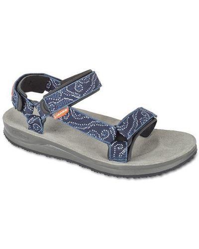 Синие сандалии Lizard