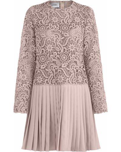 Платье свободного кроя с вырезом Valentino