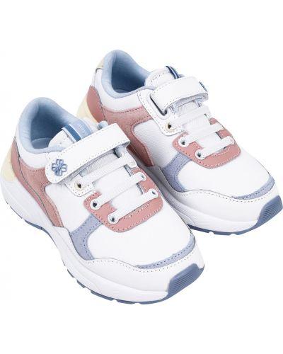 Кожаные белые кроссовки Mayoral