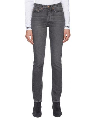 Синие джинсы с карманами винтажные Won Hundred