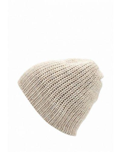 Бежевая шапка осенняя Flioraj