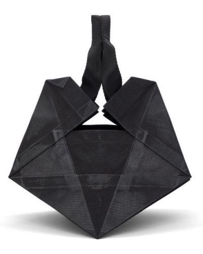 Czarna torba na ramię 132 5. Issey Miyake