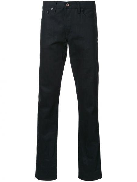 Czarne jeansy bawełniane perły Simon Miller