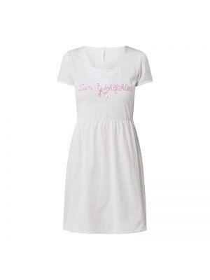 Różowa koszula nocna bawełniana krótki rękaw Louis & Louisa