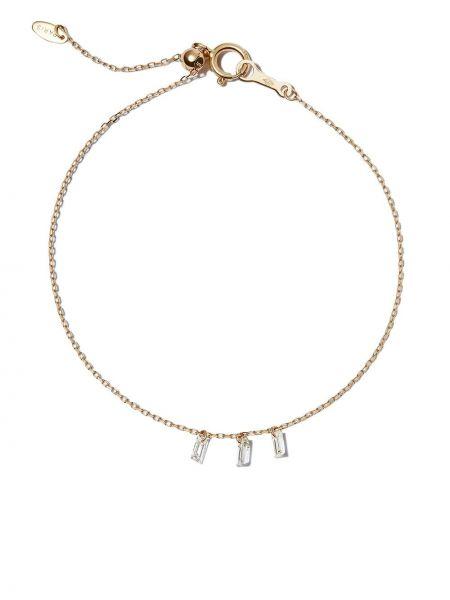Żółta złota bransoletka Persée