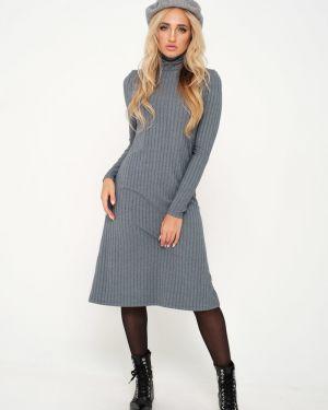 Платье миди лапша платье-сарафан Leleya