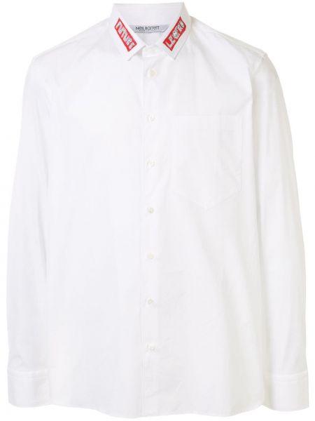 Koszula z długim rękawem z kieszeniami prosto Neil Barrett