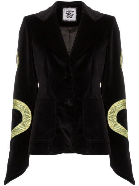 Черная куртка Rockins