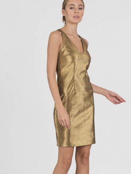 Вечернее платье осеннее золотой Raimaxx