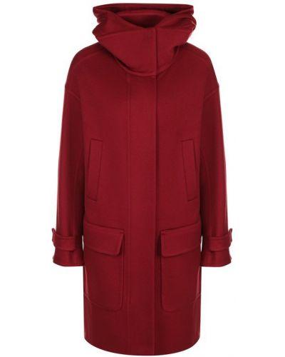 Пальто с капюшоном с карманами кашемировое Loro Piana