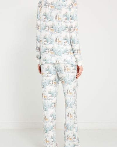 Пижамные брюки свободного кроя с поясом Pj Salvage
