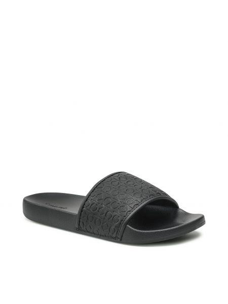 Czarne sandały casual Calvin Klein Jeans