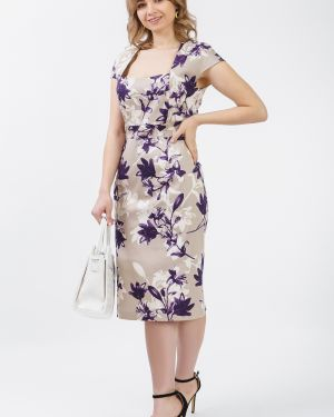 Платье с поясом футляр через плечо Lacywear