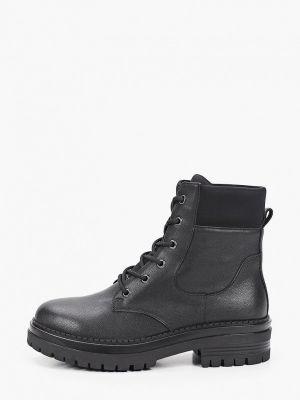 Черные резиновые ботинки Abricot