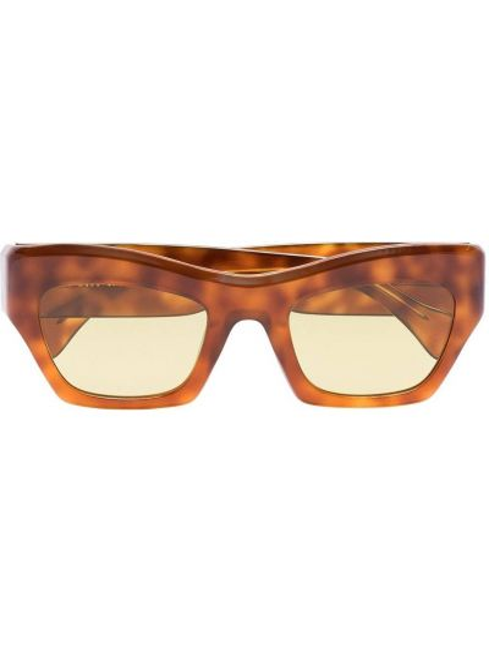 Okulary srebrne - pomarańczowe Port Tanger
