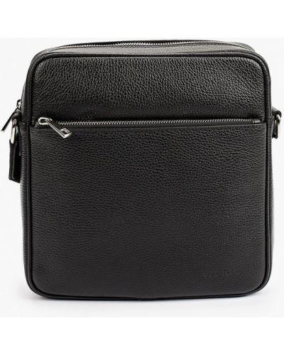 Черная сумка осенняя Wojas