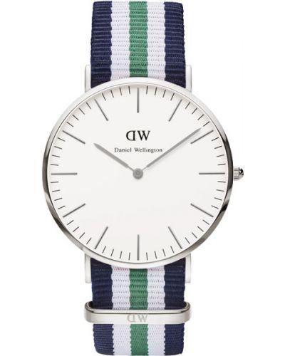 Часы водонепроницаемые белые шведский Daniel Wellington