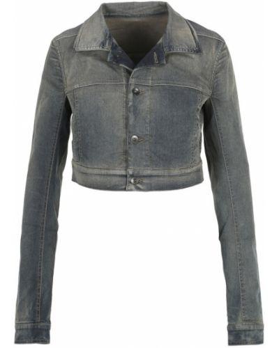 Niebieska kurtka jeansowa Rick Owens