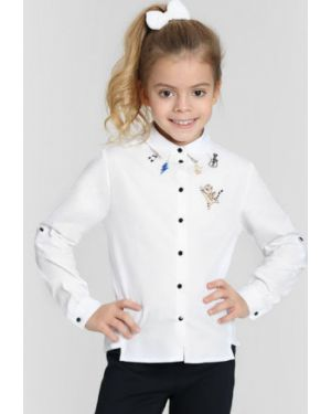 Блуза с карманами из поплина Ostin