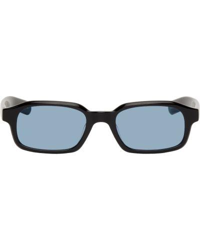 Czarne włoskie okulary Flatlist Eyewear