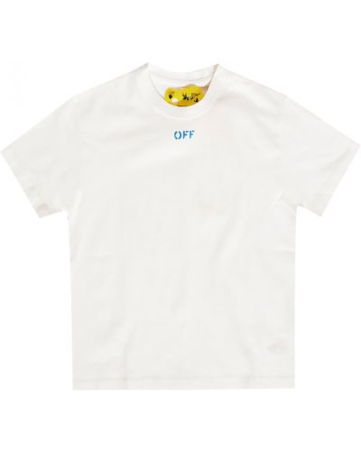 Biała koszula bawełniana - biała Off-white