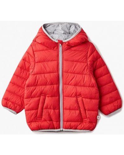 Красная куртка теплая United Colors Of Benetton