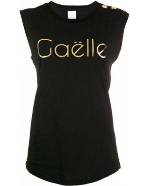 Топ на пуговицах - черный Gaelle Bonheur