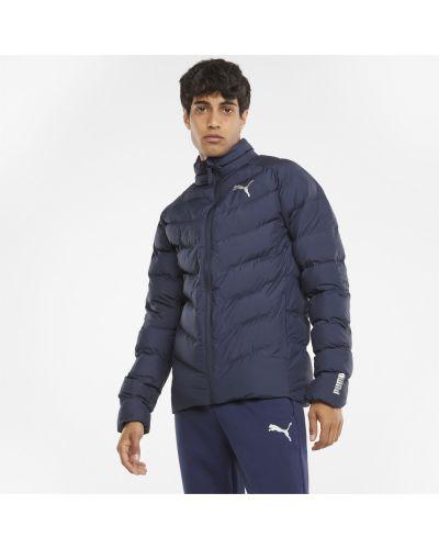 Синяя утепленная куртка Puma