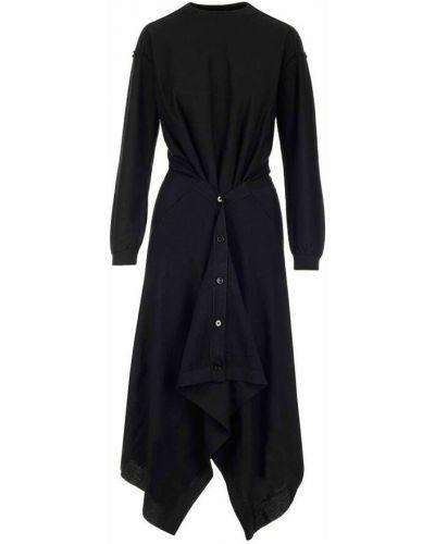 Sukienka - czarna Lemaire