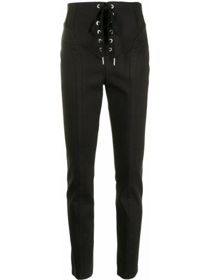 Черные хлопковые брюки Dion Lee