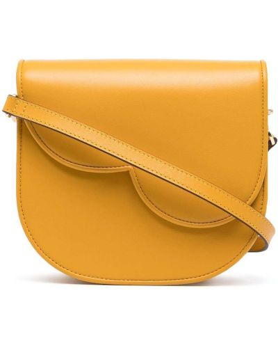 Żółta torebka na łańcuszku skórzana Bapy By *a Bathing Ape®
