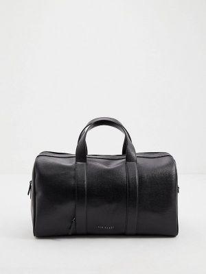 Кожаная дорожная сумка - черная Ted Baker London