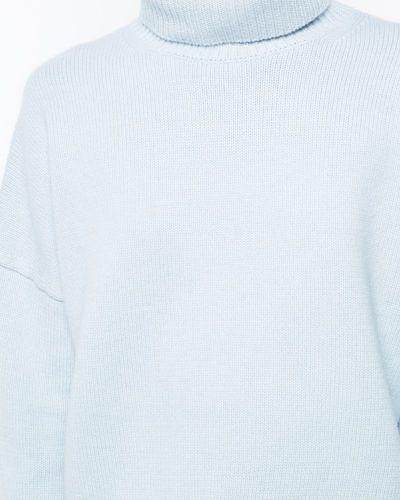 Синий джемпер в рубчик Nili Lotan