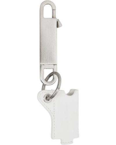 Ключница кожаная белый Rick Owens