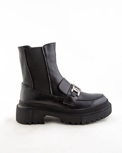 Черные ботинки осенние Sidestep
