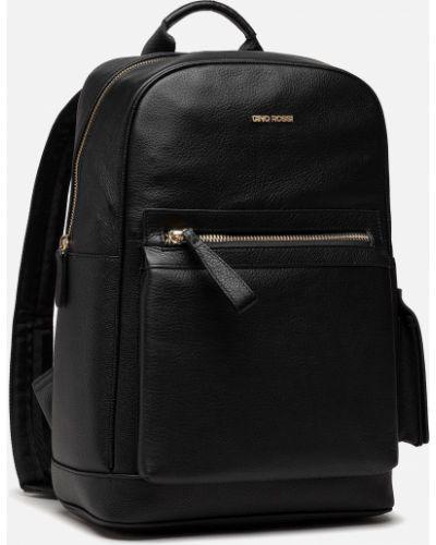 Кожаная сумка - черная Gino Rossi