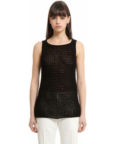 Майка - черная Calvin Klein Collection