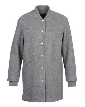Szary płaszcz przeciwdeszczowy Eleven Paris