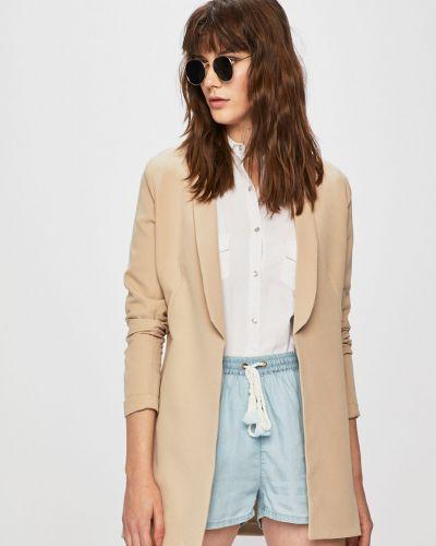 Пиджак прямой бежевый Answear