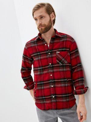 Рубашка с длинным рукавом - красная Galvanni