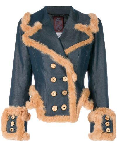 Синяя джинсовая куртка John Galliano Pre-owned