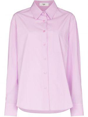 Розовая рубашка на пуговицах Frankie Shop