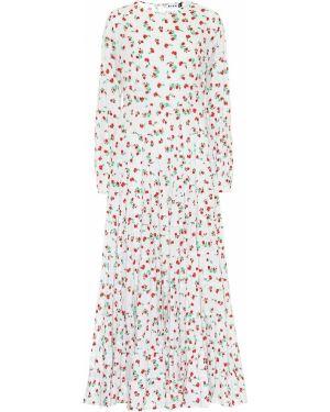Вечернее платье макси с цветочным принтом Rixo