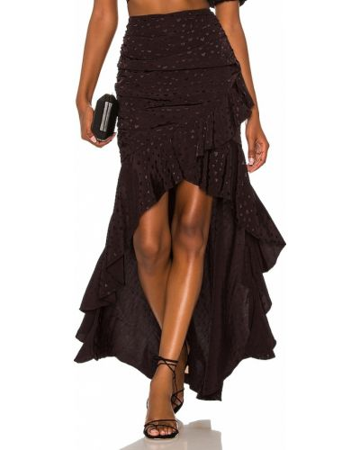 Czarna spódnica elegancka Majorelle