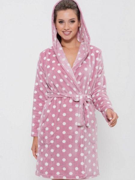 Домашний халат - розовый Cleo