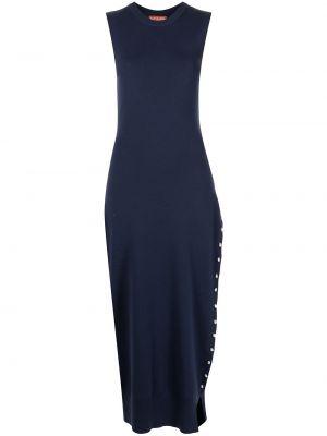 Шерстяное платье - синее Altuzarra