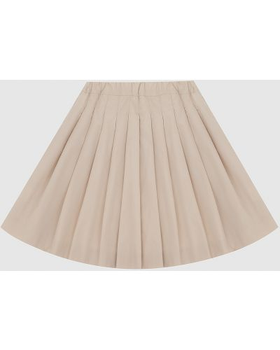 Бежевая юбка миди Caf