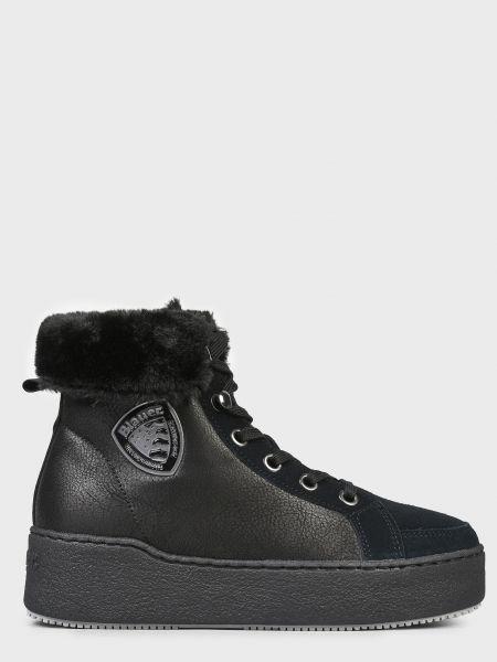 Кожаные ботинки - черные Blauer