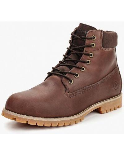 Кожаные ботинки осенние Affex